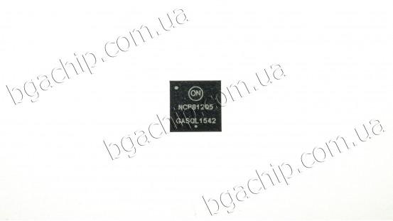 Микросхема ON Semiconductor NCP81205MNTXG (QFN-52) для ноутбука