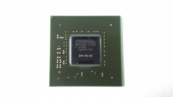 Микросхема NVIDIA G84-303-A2 GeForce 8600 GT видеочип для ноутбука