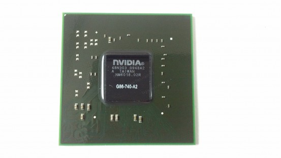 Микросхема NVIDIA G86-740-A2 GeForce 8600M GS видеочип для ноутбука