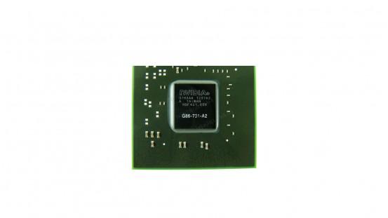 Микросхема NVIDIA G86-731-A2 GeForce 8400M GS видеочип для ноутбука