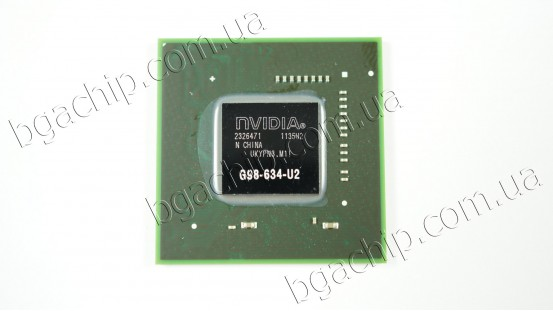 Микросхема NVIDIA G98-634-U2 GeForce 9300M GS видеочип для ноутбука