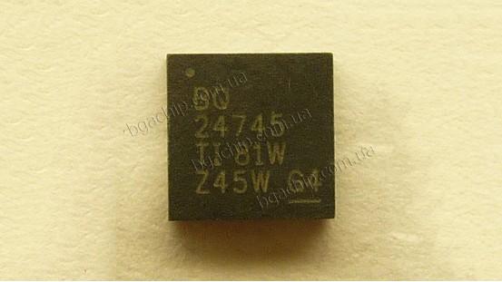 Микросхема Texas Instruments BQ24745 для ноутбука