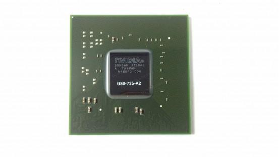 Микросхема NVIDIA G86-735-A2 GeForce 8400M видеочип для ноутбука