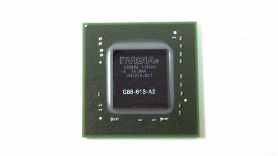 Микросхема NVIDIA G86-613-A2 Quadro NVS 130M видеочип для ноутбука