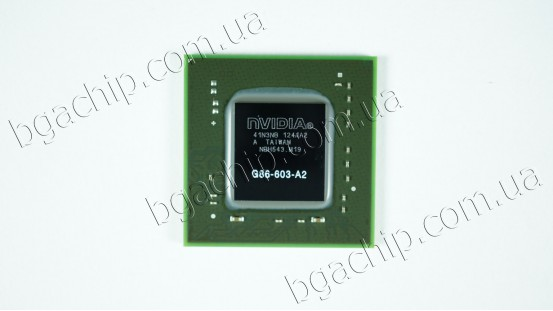 Микросхема NVIDIA G86-603-A2 GeForce 8400M GT видеочип для ноутбука
