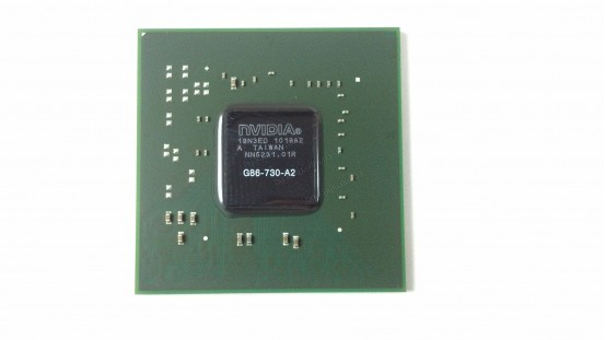 Микросхема NVIDIA G86-730-A2 GeForce 8600M GT видеочип для ноутбука