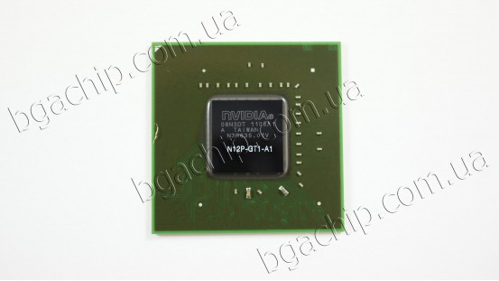 Микросхема NVIDIA N12P-GT1-A1 GeForce GT550M видеочип для ноутбука