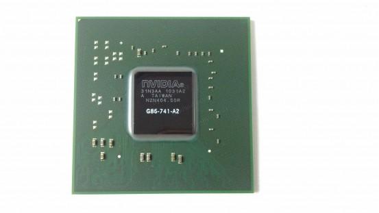 Микросхема NVIDIA G86-741-A2 GeForce 8400M GS видеочип для ноутбука