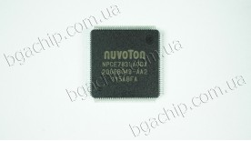 Микросхема Nuvoton NPCE783LA0DX (TQFP-128) для ноутбука (NPCE783LAODX)