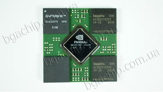 Микросхема NVIDIA GF-GO6200TE-NPB  64M GeForce Go6200 видеочип для ноутбука